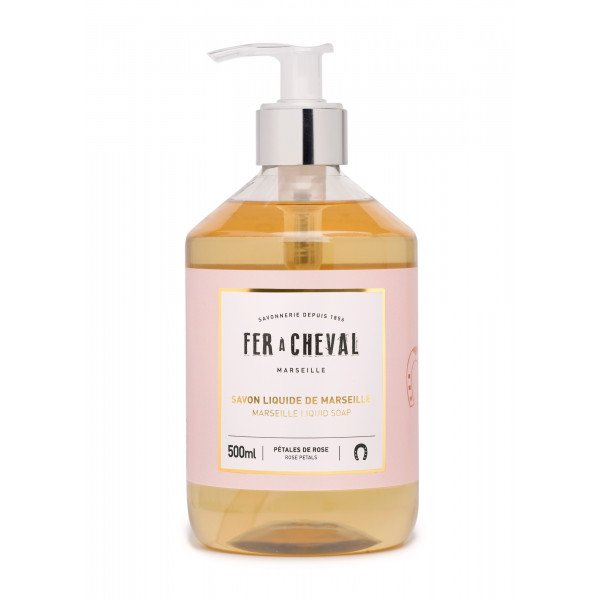 Marseille Liquid Soap Rose Petals 500ml