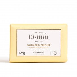 Savon Doux Parfumé Miel & Amande 125g