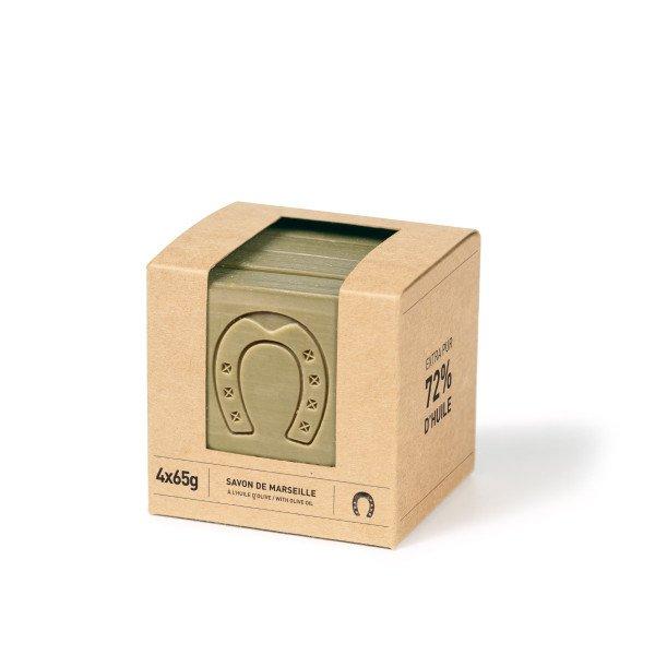 Savon de Marseille Cube Tranché Olive