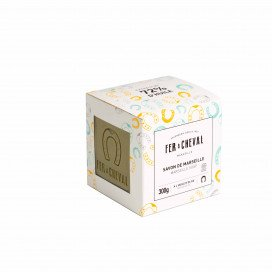Lucky Charm Olive Marseille soap cube 300g