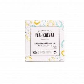 Savon de Marseille Cube Olive 300g Porte-bonheur