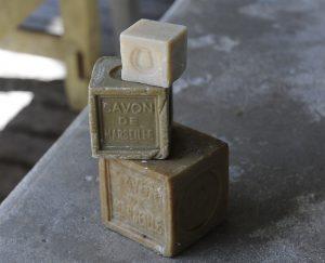 Authentique savon de marseille en cubes