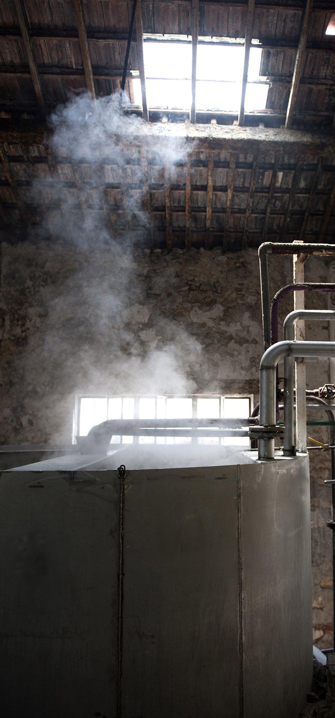 Salle des chaudrons de la savonnerie Fer à Cheval